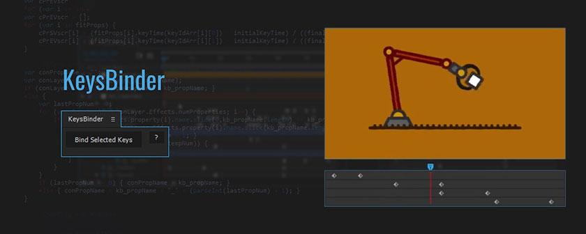 دانلود اسکریپت KeysBinder برای نرم افزار افتر افکت