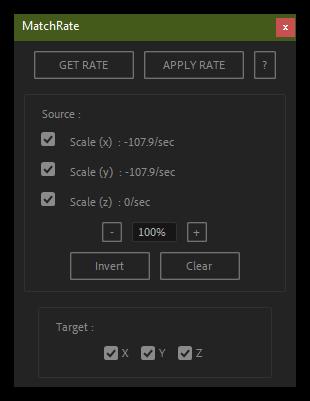 تست کرک اسکریپت MatchRate در نرم افزار After Effects