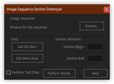 تست کرک اسکریپت Sequence Section Destroyer برای افتر افکت