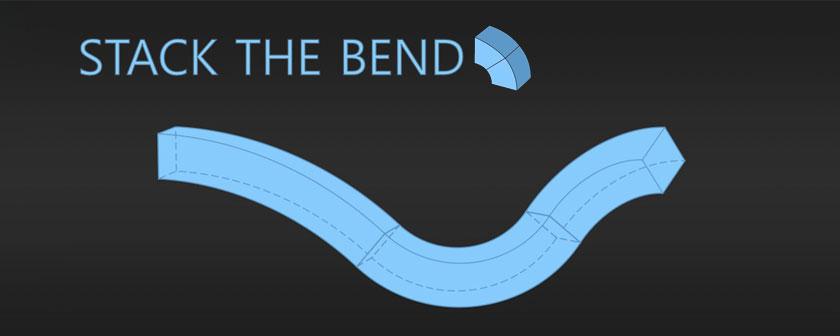 دانلود پلاگین Stack The Bend C4D برای نرم افزار افتر افکت