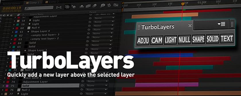 دانلود اسکریپت TurboLayers برای نرم افزار افتر افکت