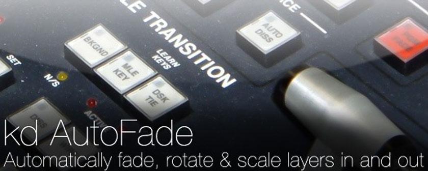 دانلود و آموزش اسکریپت kd AutoFade در افتر افکت