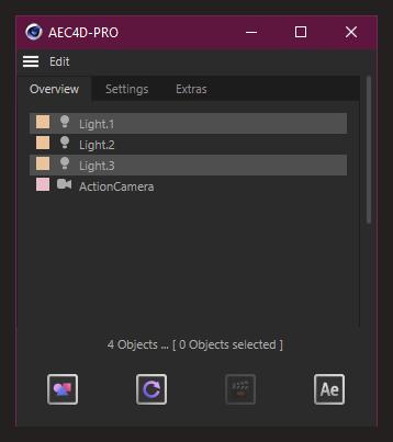 تست کرک پلاگین AEC4D PRO در نرم افزار Cinema 4d