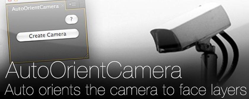 دانلود اسکریپت AutoOrientCamera برای نرم افزار افتر افکت
