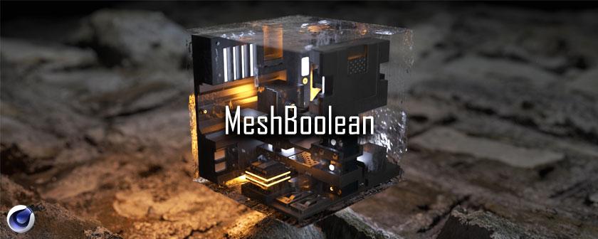 دانلود پلاگین MeshBoolean برای نرم افزار Cinema 4d