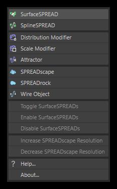 تست کرک پلاگین SurfaceSPREAD در نرم افزار Cinema 4d