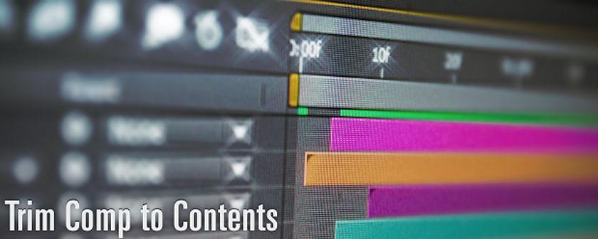 دانلود اسکریپت Trim Comp to Contents برای نرم افزار After Effects